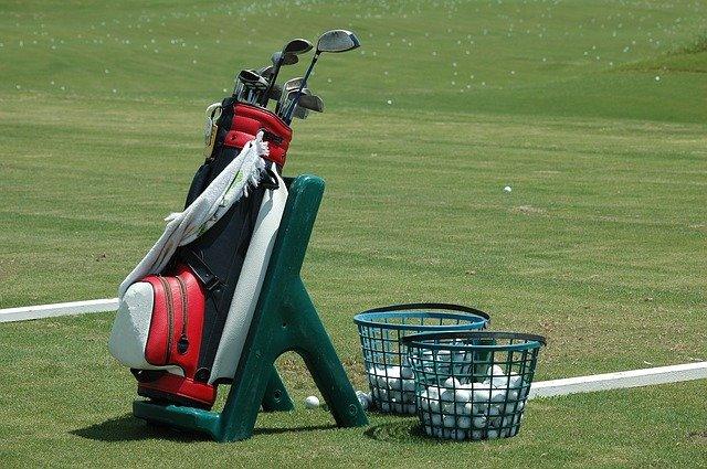 potřeby golfisty