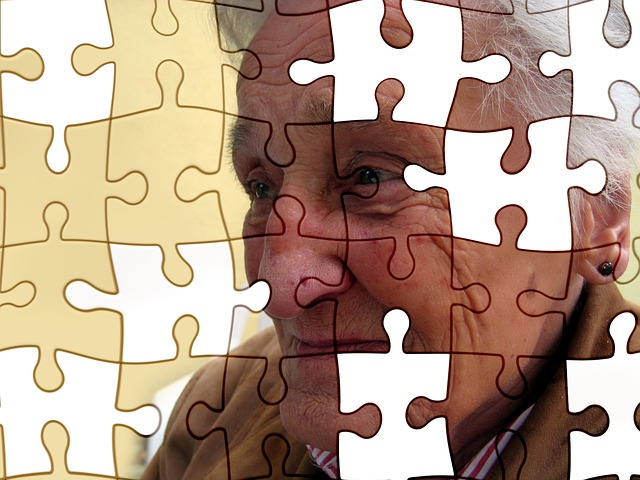 starý člověk, puzzle