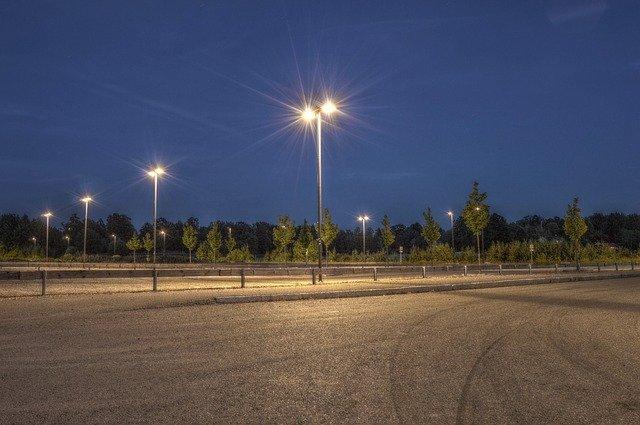 pouliční lampy