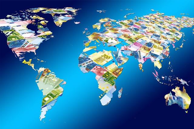 svět plný peněz
