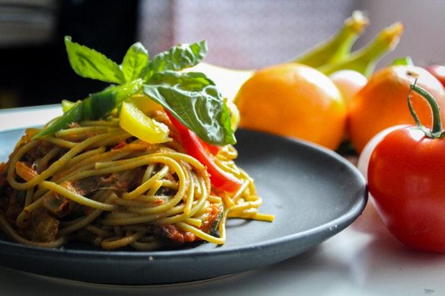jídlo, špagety